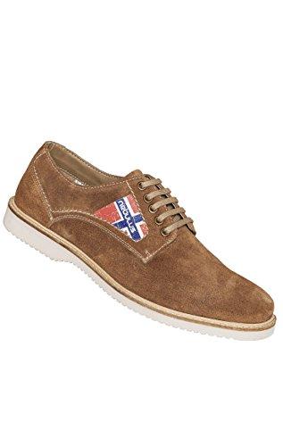 Nebulus Zapatos de cordones Merano Brandy EU 44