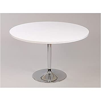 Becky Round Dining Table White High Gloss cm Amazon.uk