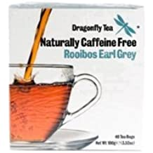 Rooibos Earl Grey Tea (40 Bag) Bulk Pack x 6 Super Savings by Dragonfly Teas