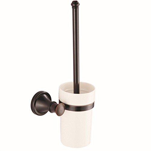Brass Vintage Toilet Brush - GKRY@Bathroom Toilet Brush Set Brass Handle with Holder Wall Mount-Toilet Brush & Holder Vintage Black Antique Brass Wall Mount Bathroom, Toilet Brush Holder