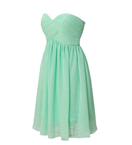 Chiffon Party Short D Champagne Sweetheart H Bridesmaid Women's Dress S Gowns P8xqCnwInp