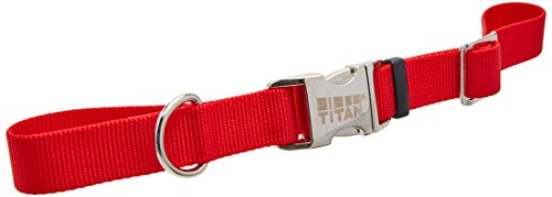 Coastal Pet Products DCP61901RED Nylon Spectra Dog Collar, 1-Inch, Red