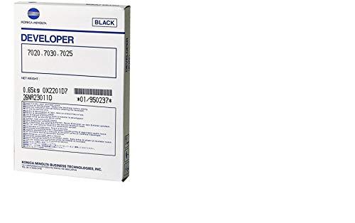 - Konica Minolta 7020 Black Developer - OEM - OEM# 950-237 - Also for 7025 and others