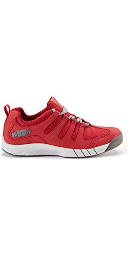 Henri Lloyd Deck Grip Profile Deck Shoes in New Red - Unisex - Lightweight. Breathable