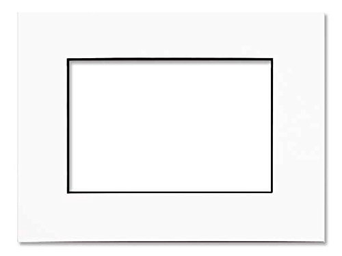 Amazoncom White Photo Mat With Black Core 28x40 For 24x36 Posters