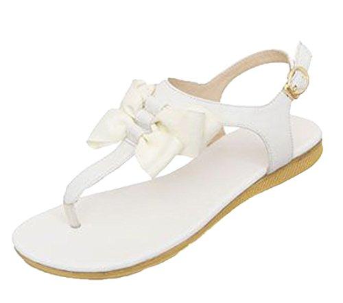 Insun Blanc blanc Sandales femme pour rxvwrqaU