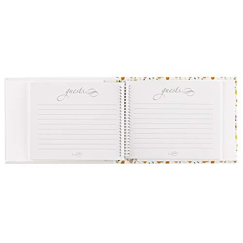 Multicolor Hewitt 40443 Botanical Bridal Shower Guest Book Hortense B 7.5 x 5.75-Inches