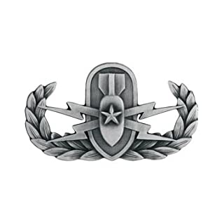 Eod badge do it yourselfore eod explosive ordnance disposal metal badge insignia non subdued silver oxide solutioingenieria Gallery