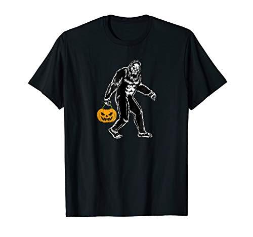 Cool Bigfoot Halloween Trick or Treat Shirt