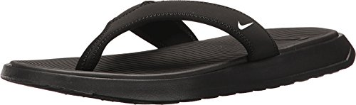 Nike Mens Ultra Celso Thong Sandal Black White 14