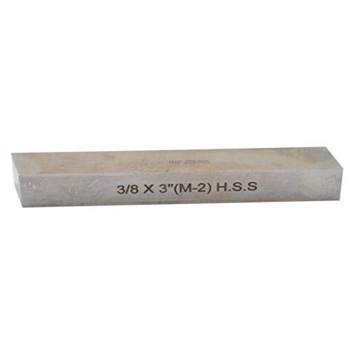 HHIP 2000-0005 3/8 x 3 Inch M2 HSS Square Tool Bit