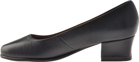 Footthrills Mujeres Midtown Slip-on Zapatos Cuero Marino