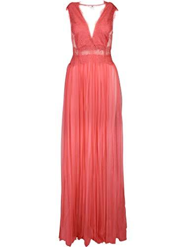 Poliamida Vestido Rosa Ab74692e2d89 Franchi Elisabetta Mujer x7qXInt