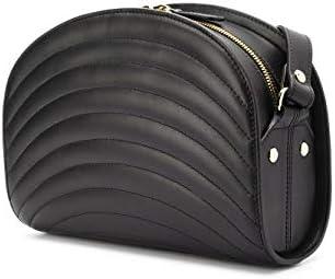 A.P.C. Luxury Fashion Donna PXBMOF61048LZZ Nero Pelle Borsa A Spalla | Primavera-estate 20