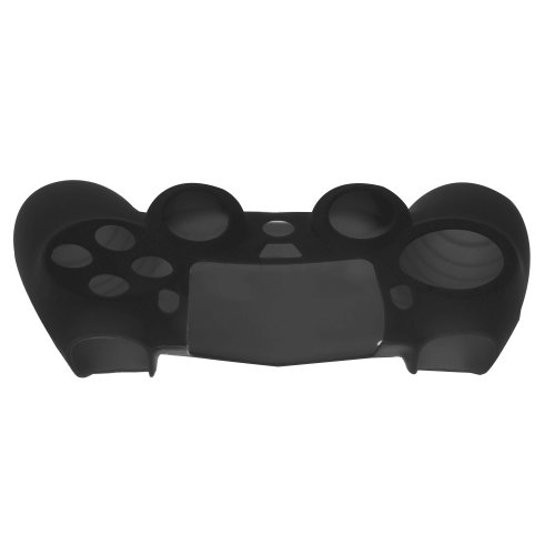 SlickBlue 2 Pack Flexible Silicone Protective Skin Case For Sony PS4 Game Controller - Black [PlayStation 4]