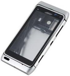 cheaper e35d7 4583b Amazon.com: Full Housing Faceplate Phone Case Cover for Nokia N8 ...