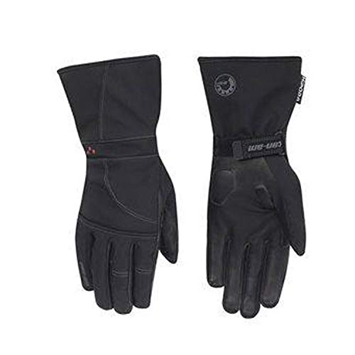 Can-Am Spyder New OEM Ladies Soft Shell Touring Gloves Medium Black, 4461940690
