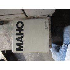 MAHO MH600T CNC HORIZONTAL MILL USER'S MANUAL