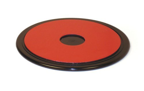 Navitech 80mm Circular Adhesive Universal Dash Disc Compatible With The Use With Windscreen Suction Cups Compatible With The Garmin Nuvi NuLink 2390, NuLink 2340, NuLink 1695, Nuvi 2440, Nuvi 2460LT, - Cup 660 Suction