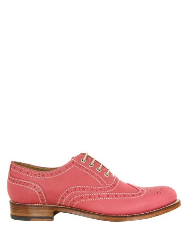 6a3015f533fe Grenson Rose Pink Brogues 8  Amazon.co.uk  Shoes   Bags