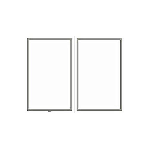 amscan Party Perfect White with Silver Border Bi-Fold Printable Wedding Program Sheets, Paper, 8