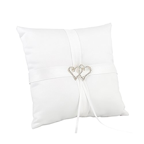 - White With All My Heart Pillow