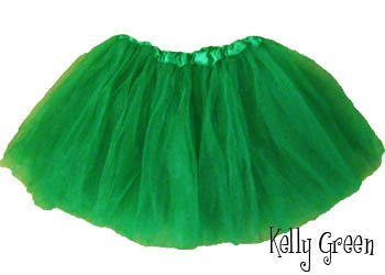 Green Ballet Tutu - Fairy Princess Ballerina Toddler & Little Girls (Green Fairy Dress)