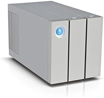 LaCie 2big - Disco de sobremesa Raid para Mac y PC 12 TB (2 x 6 TB, Thunderbolt 2 + USB 3.0)