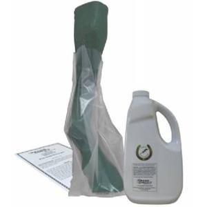 Grand Circuit White Lightning 64 oz Liquid with Disposable SOAK Boot BAGS by Grand Circuit