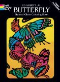 Best Dover Publications Kid Books For 3 Year Olds - Dover Publications-Butterfly Stained Glass Coloring Bk Review