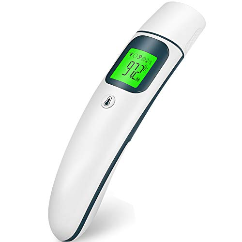 Baby Thermometer Ear Thermometer Forehead Thermometer for Adults Digital Infrared Thermometer for Adults and Kids 1s Instant Accurate Reading Indoor Outdoor