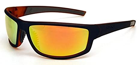 a4d6df8024 Image Unavailable. Image not available for. Color  Body Glove Vapor 16  Smoke Polarized with Mirror Flash Sunglasses ...
