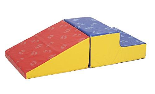 ECR4Kids SoftZone Little Me Wall Climb and Slide (2 Piece) (Classroom Halloween Games)