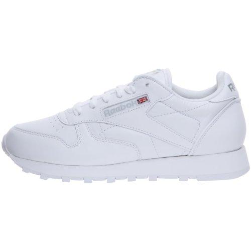 Leather Bianco 39 Bianca Classic Reebok it Amazon Eu Sneaker wgqBFExW