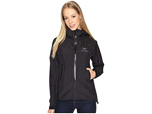 ARC'TERYX Beta SL Jacket Women's (Black/Black, X-Large)