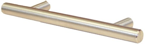 Global Door Control Stainless Steel Hollow Cabinet Pull - Set of 25