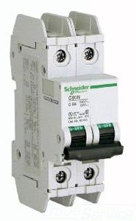 SCHNEIDER ELECTRIC 60162 C60N 2-Pole 13-Amp D Box Ul 489