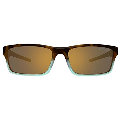 Tifosi Optics Tifosi Watkins Matte Blue Tortoise Swivelink Sunglasses - Brown Polarized