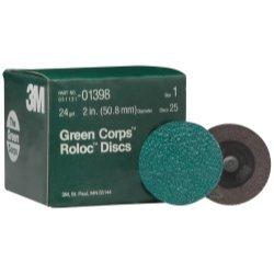 3M Green Corps Roloc Discs, 2