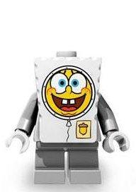 LEGO Spongebob LOOSE Mini Figure Spacewalk (Lego Spongebob Rocket)