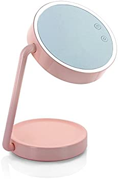 Tenergy Vanity Mirror LED Desk Lamp with Rechargeable Battery