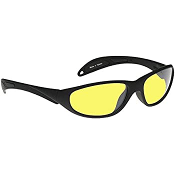 Night Driving Glasses With Yellow Polycarbonate Double