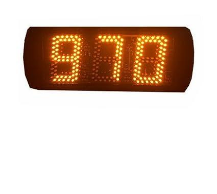 godrelish 53dígitos LED Digital temporizador apoyo Max 999segundos cuenta atrás o hasta IR mando a distancia color amarillo Godrelish-ST503Y