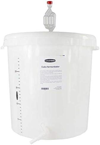 Cocinista Cubo fermentador con Grifo y válvula - 30l