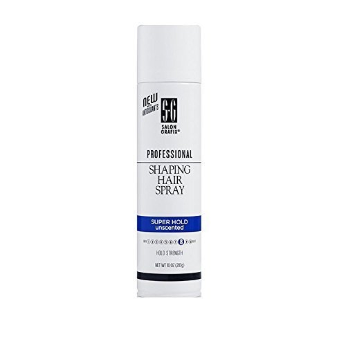 Salon Grafix Professional Shaping Hair Spray, Unscented, Sup