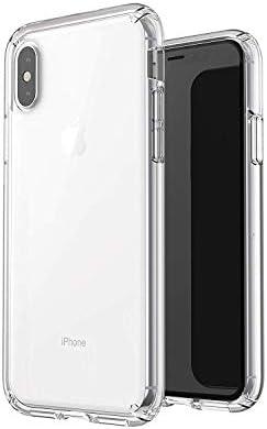 Coovertify Funda Transparente Antigolpes iPhone X/XS, Carcasa ...