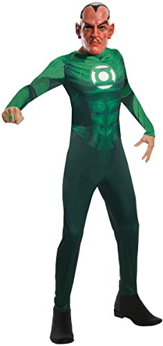 Rubie's Costume Co Men's Green Lantern Movie Sinestro Adult Costume, Green, Medium