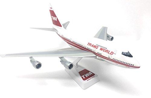 Flight Miniatures LP1510M B747-100 Twa Red Stripe 1-250 #ABO-74710I-005