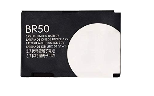 - New Replacement Battery BR50 Cell Phone 710mAh Battery for RAZR V3m V3c