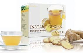 Instant Ginger Powder Drink 0.49 Oz X 10 Sachets.(pack of 2)